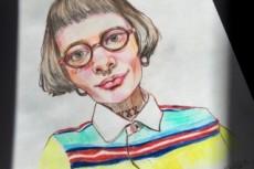 Нарисую ваш портрет или концепт персонажа, разработаю эскиз татуировки 28 - kwork.ru
