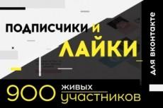 Накручу 350 участников в группу 17 - kwork.ru
