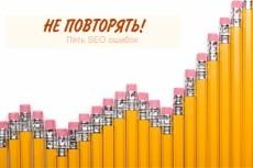 подбор семантики из Я.Вордстат 6 - kwork.ru
