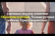 13 ВЕЧНЫХ ссылок с ТОПфорумов страны. Ручная работа 23 - kwork.ru