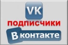 300 подписчиков на паблик Вконтакте, без ботов и программ 10 - kwork.ru