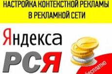 Настройка и ведение 1-центовой кампании 6 - kwork.ru