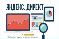 Ведение рекламной кампании в Яндекс директ 10 - kwork.ru