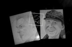 Нарисую портрет карандашом или на графическом планшете 19 - kwork.ru