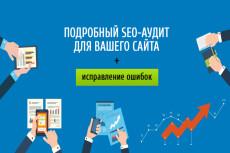 Аудит внутренней SEO оптимизации сайта + консультация 3 - kwork.ru