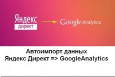 Установка Яндекс Метрики + настройка целей + дашборд 33 - kwork.ru