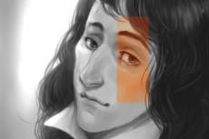 создам портрет в стиле аниме 4 - kwork.ru