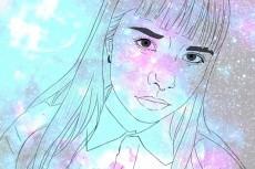 нарисую портрет в интересном стиле 4 - kwork.ru