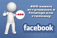 800 живых(офферов) в группу/паблик ВК 3 - kwork.ru