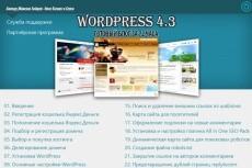 Научу создавать сайты на  WordPress 9 - kwork.ru