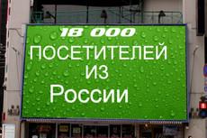 Качественный трафик. 5000 посетителей из Москвы и области 40 - kwork.ru