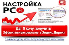 Профессиональная настройка Яндекс.Директ 8 - kwork.ru