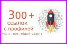 Пирамида ссылок на ваш сайт из 500 профилей и 500 сообщений на них 11 - kwork.ru