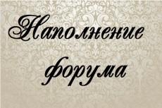 Наполнение контентом 8 - kwork.ru