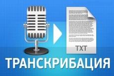 Расшифрую аудио или видео в качественный и грамотный текст 14 - kwork.ru
