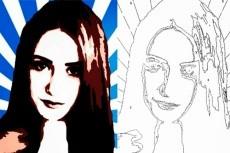 Напишу портрет 34 - kwork.ru