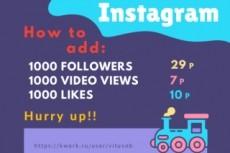 Обучу продвижению в Instagram + дам безлимитный софт для продвижения 10 - kwork.ru