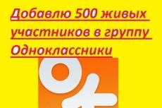 Участники в группу в Одноклассники 21 - kwork.ru