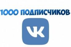 Вконтакте Друзья. Подписчики на аккаунт, профиль 500 человек 7 - kwork.ru