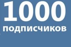 1500 подписчиков в Инстаграм 16 - kwork.ru