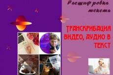 Переведу аудио- и видеоматериалы в текст (транскрибация) 18 - kwork.ru