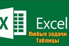 Работа в MS Excel любой сложности 21 - kwork.ru