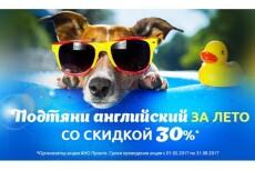 Создам профессиональный рекламный баннер 135 - kwork.ru