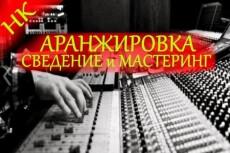 Музыкальное оформление ваших идей. Аранжировка 8 - kwork.ru