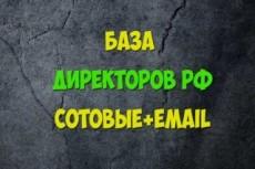 База Москвы по возрастам и полу 17 - kwork.ru