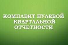 Составление нулевой отчетности для ООО и ИП в ПФР, ФСС, ИФНС 16 - kwork.ru