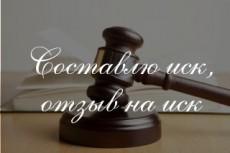 Иск в суд о взыскании долга 16 - kwork.ru