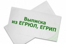 Закажу выписку из егрюл или егрип 18 - kwork.ru