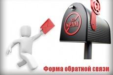 Настрою форму обратной связи 11 - kwork.ru