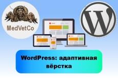 WordPress. Создание сайта 6 - kwork.ru