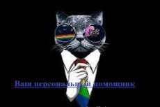 Ваш личный помощник и персональный ассистент 3 - kwork.ru