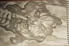 Создам рисунки простым карандашом на листе размером А4 18 - kwork.ru