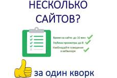 10000 уникальных посетителей на Ваш сайт 43 - kwork.ru