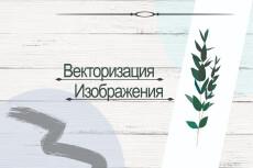 Переведу ваш логотип или изображение в вектор 23 - kwork.ru