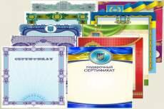 Диплом, сертификат, грамота 12 - kwork.ru