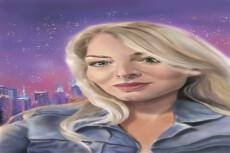 Нарисую портрет в фотошопе 20 - kwork.ru