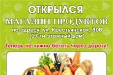 сделаю дизайн флаера 6 - kwork.ru