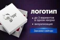 Разработаю логотип 11 - kwork.ru
