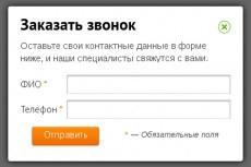 Создам форму обратной связи на сайт 7 - kwork.ru