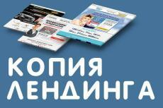 Создаю Лендинг  с формами обратной связи и полным функционалом 19 - kwork.ru