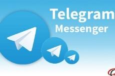 600 подписчиков на канал Телеграм. Живые исполнители 11 - kwork.ru