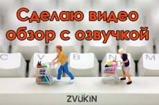 Наложу звук на видео 4 - kwork.ru