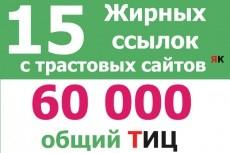 поставлю ссылки на 18 моих сайтах 3 - kwork.ru