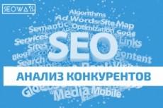 Исследую Ваших конкурентов в поиске (ключевые фразы в поиске и в direct) 17 - kwork.ru