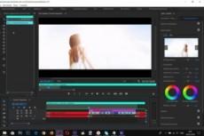 Выполню монтаж видеороликов, склейка, наложение аудио, цветокоррекция 15 - kwork.ru