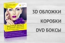 3D-обложка для книги или видеокурса с анимационными персонажами 21 - kwork.ru
